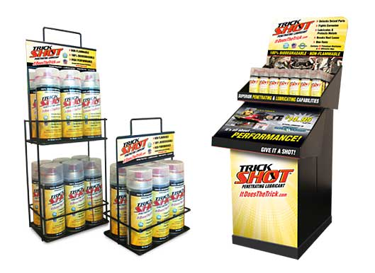 Trickshot Display Racks
