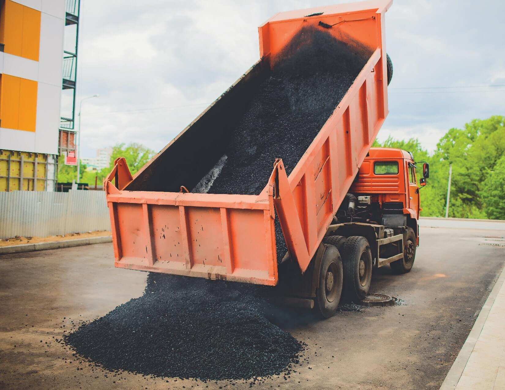 Road Black Topping