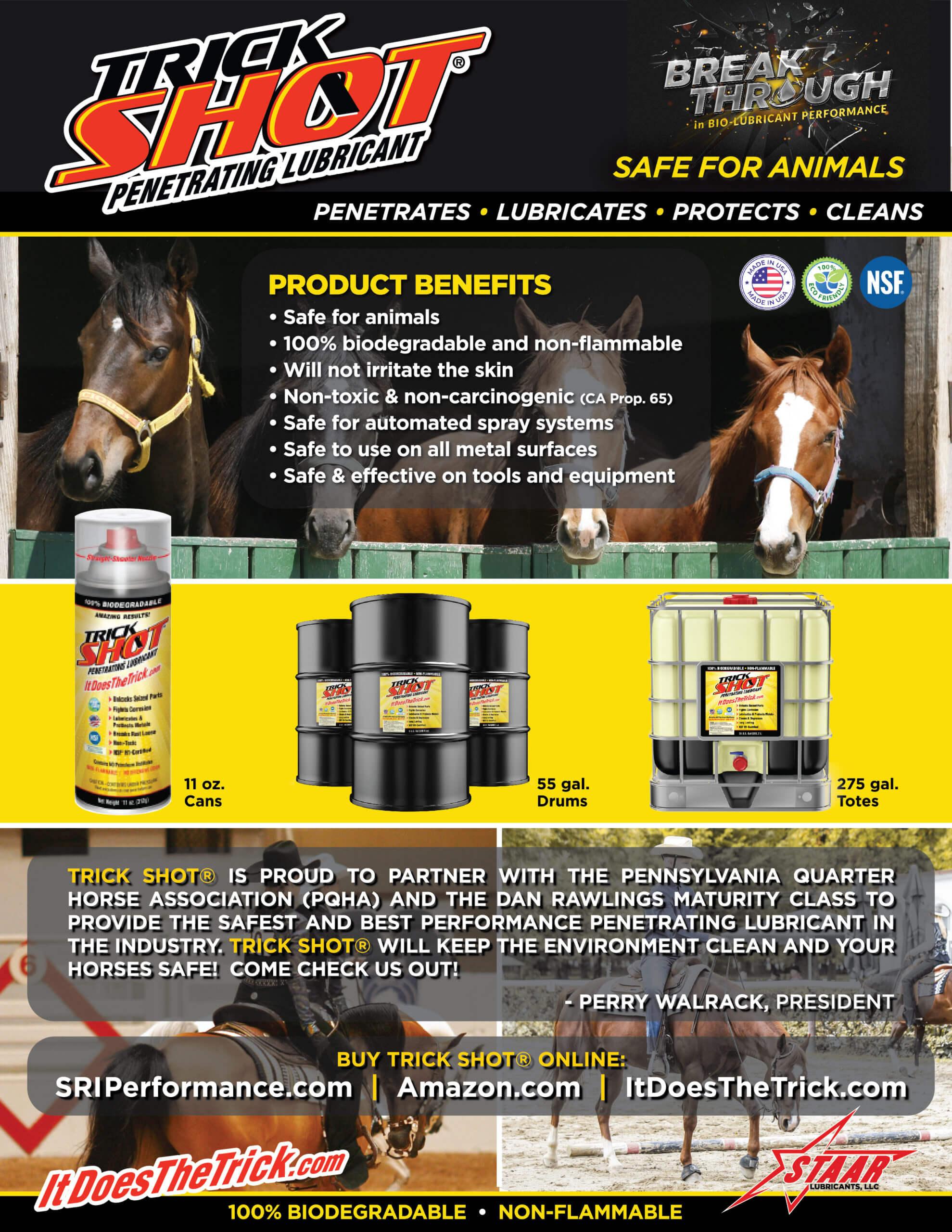 TrickShot Safe For Animals