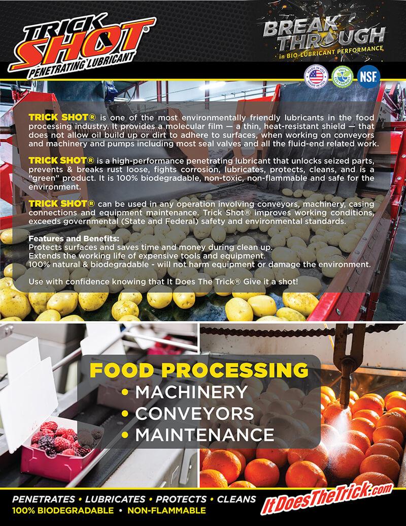 TrickShot-Food Processing front